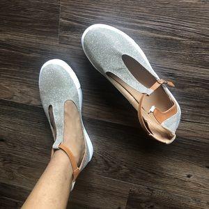 Cinderella glitter shoes